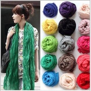 【ZAKZAK】韓国風超人気!!★可愛い、ファッション★超柔らかくて寒さを防ぐスカーフ・どんな季節でも着けるスカーフ#5429の画像