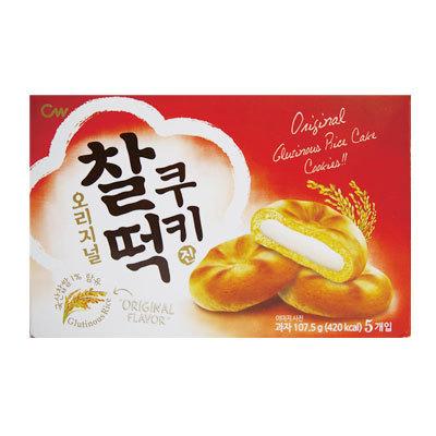 Qoo10『CW』チャルトク クッキー|餅クッキー(20g×5個入) クッキー 韓国お菓子 韓国食品