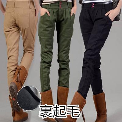 2017 韓国ファッション 新作OL通勤 ゆるパンツで作る大人ツイルリラックスパンツ/レディース いパンツ ボトムス カジュアル きれいめ 九分ハイウエスト 美脚美尻 ズボン