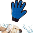 True Touch Five finger deshedding glove/Pet the hair away
