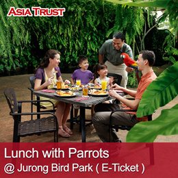 Lunch with Parrots at Jurong Bird Park eTicket