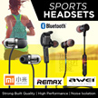 Korea bestselling earphones!*Quality assured!*Bluetooth Wireless sports earphones Remax AWEI A920BL A921BL S2 S5 S8 iPiPOO wired  Superbass stereo clarity Mic Volume Control for calls Music