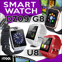 Smart Watch [ DZ09 / G8 ] Bluetooth with Build-in SIM Card and Micro SD Card *** U8 Smart Watch ***