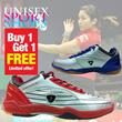 Hot Seller!!! - Beli 1 gratis 1 pasang - Sepatu BuluTangkis/Badminton/Tennis KETA 108