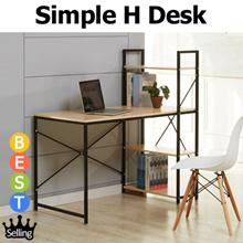 [BLMG_SG] 1200/1500mm the Biggest board/ Upgraded Simple H Type Desk★Student Desk★Furniture★Table★St