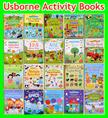 RESTOCK Original Usborne Children Activity Book Educational Book Learning Through Play * Sticker