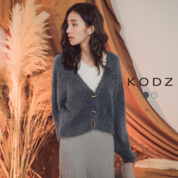 KODZ - Fashion Buckle Knitting Sweater-182532-Winter