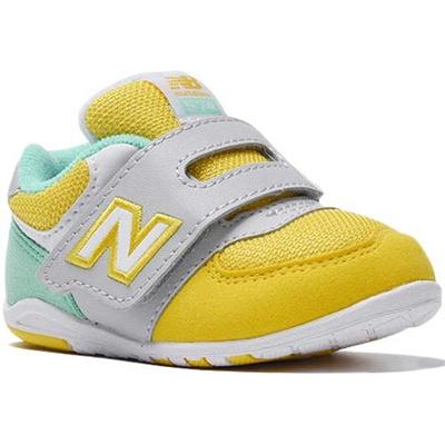 ニューバランス(newbalance)キッズシューズイエロー/グレーYELLOW/GRAYFS574YGI【ベビー子供スニーカー運動靴男の子・女の子】