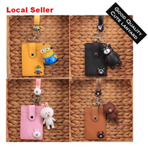 (Local Seller) Super Cute Cartoon Lanyard Card Holder /Ideal For Gift / New Year / Office / School