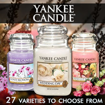 [♥ YANKEE CANDLE  ♥] Large Jar Candles MidSummers Night /WEDDING DAY /CLEAN COTTON/WEDDING DAY/TURQUOISE SKY/SWEET APPLE/ FRENCH LAVENDER  623 G