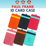 100% Genuine[MADE IN KOREA]paul frank/Business Card Case/Name Card/Premium ID Card Holder/necklace
