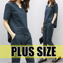 【MAY 25th  update】2017 NEW PLUS SIZE LADY DRESS TOP BLOUSE PANTS