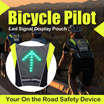 ★SUPER SALES 14 SETS ONLY Wireless Bicycle Pilot Led Signal Display Pouch★
