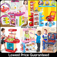 ★SALE★ 50 Types Pretend Role Play Playset/ Kitchen/ Doctor/ Tools / Cooking Market/ Educational Toy