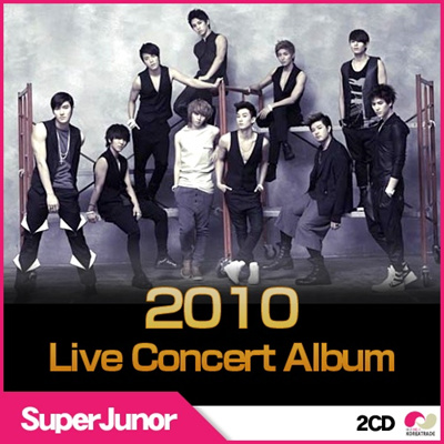 K-POP セールイベント【韓国・2CD】スーパージュニア (SuperJunior) - Super Show 3 CD(2枚) 2010 Live Concert Album The 3rd Asia Touの画像