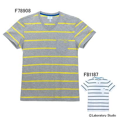 アディダス (adidas) STR JBQ2 ストライプポケットTシャツ M ANJ63 [分類:メンズファッション 半袖Tシャツ]の画像