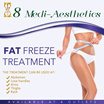 4 Locations - $22 Fat Freeze Treatment Include Membrane Valid For Male and Female (Doctor Designed Treatment)