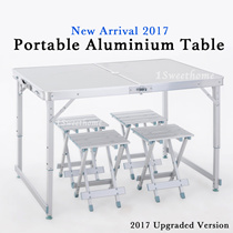 ★★Portable Foldable Aluminium Table★★ [New arrival stock] 2 in 1 multipurpose table/ BEST SELLER