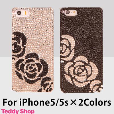 iPhone5sケース キラキラ 人気 iPhone5ケース アイフォン5sケース アイフォン5ケース スマホカバー スマホ ブランド デコ スワロフスキー スマホケース iphoneケース iphone5sカバー かわいい おしゃれ iPhoneカバー アイフォン カバーの画像