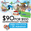 Downtown East $90 For $100 Voucher
