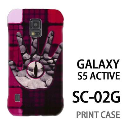 GALAXY S5 Active SC-02G 用『No2 6』特殊印刷ケース【 galaxy s5 active SC-02G sc02g SC02G galaxys5 ギャラクシー ギャラクシーs5 アクティブ docomo ケース プリント カバー スマホケース スマホカバー】の画像