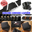 ★ Genuine Cowhide Leather Belt ★/Mens wallet/Automatic Buckle/ Business Black Belts wall Premium