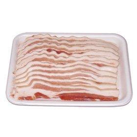 【韓国食品・冷凍食品】■豚皮付き五段バラスライス(7mmx1kg)■の画像