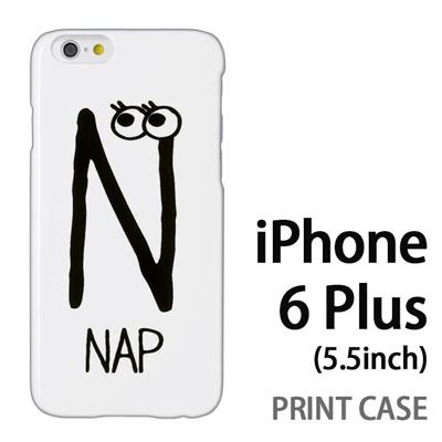iPhone6 Plus (5.5インチ) 用『0623 「N」』特殊印刷ケース【 iphone6 plus iphone アイフォン アイフォン6 プラス au docomo softbank Apple ケース プリント カバー スマホケース スマホカバー 】の画像