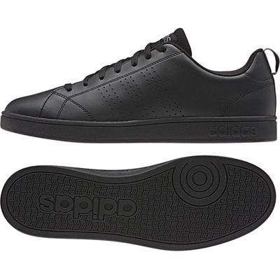 アディダス (adidas) VALCLEAN(コアブラック×コアブラック×リード) F76599 [分類:レディースファッション スニーカー ローカット]の画像