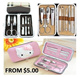 [ORTE] Manicure Pedicure Facial Tools Set*Hard DAIMER Casing Box* Hello Kitty Design Casing*Various Nail Cutters* Scissors*Eye Brow Groomer*Dead Skin Remover*Ear Cleaner*Nail Buffer*Travel Size*