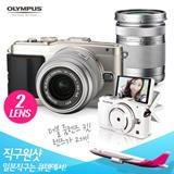 OLYMPUS mirrorless SLR PEN Lite E-PL6 double zoom kit Silver E-PL6 DZKIT SLV