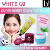 [NEW] White Cat - Hand Cream / Moisturizer / Eye Primer (Ready Stocks / Skincare)