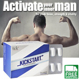 [BEST SELLER] KICKSTART Seen on Newspapers! Made in USA/ 100% Natural Ingredients. Supplement Male Performance Tablets. General Health Stamina Sexual Performance Virility .