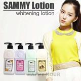 Best Produk Perawatan Kulit[SAMMY] WHITENING BODY LOTION|SAMI LOTION PEMUTIH|BODY LOTION KOREA 250ml|original-Cucumber Rose Bunga Almond
