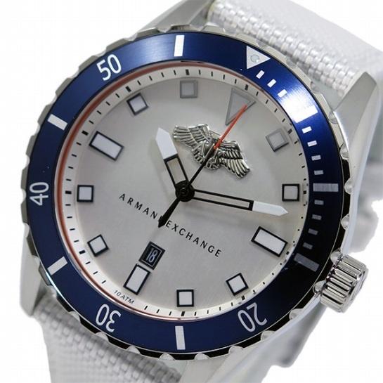 【クリックで詳細表示】ARMANI EXCHANGE アルマーニエクスチェンジ アルマーニ エクスチェンジ クオーツ メンズ 腕時計 AX1711 ホワイト ax1711 【直送品の為、代引き不可】