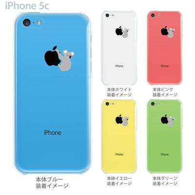 【iPhone5c】【iPhone5c ケース】【iPhone5c カバー】【ケース】【クリア カバー】【スマホケース】【クリアケース】【イラスト】【クリアーアーツ】【コアラ】 06-ip5cp-ca0019の画像