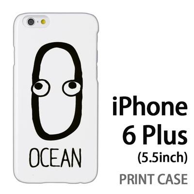 iPhone6 Plus (5.5インチ) 用『0623 「O」』特殊印刷ケース【 iphone6 plus iphone アイフォン アイフォン6 プラス au docomo softbank Apple ケース プリント カバー スマホケース スマホカバー 】の画像
