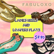 [BE ME] Special Offer! Ladies Heels and Loafers Flats! Store Pickup at United Square!