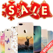 {PREMIUM DESIGN! 50 DESIGNS! FREE GIFT! 50% OFF 2nd Case!} ★ For iPhone 6/6s/6+/7/7 Plus Case 【 NEW 】 Beautiful Landscape/Christmas Gift Ideas Designs★ SG LOCAL COMPANY ★