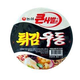 【韓国食品・韓国ラーメン】■韓国の揚げうどんカップ麺(辛さ0)■の画像