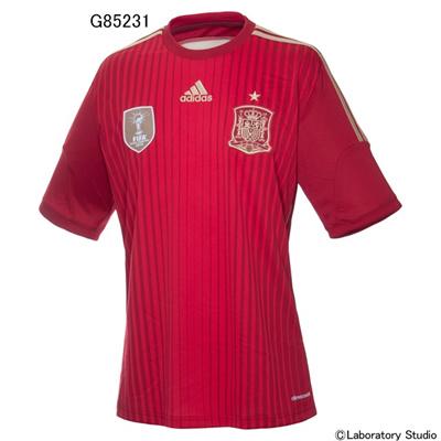 アディダス (adidas) Kids スペイン代表 ホーム レプリカジャージー S/S AD717 [分類:サッカー レプリカウェア (海外代表・海外クラブチーム)] 送料無料の画像