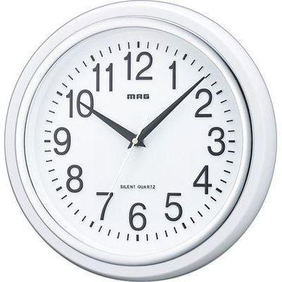 MAGスタンダード掛時計「白マグ」(ホワイト)W-663-WH-Z