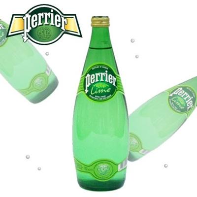 ペリエ ライム 750mlボトル 12本入り 1ケース 【Perrier/ミネラルウォーター】【炭酸/硬水】の画像