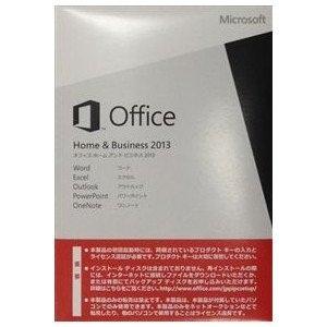 [マイクロソフト/Microsoft] Office Home and Business 2013 (DSP/OEM)の画像