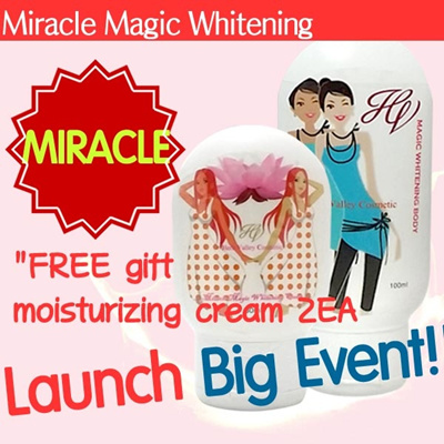 Qoo10 launch big event miracle magic whitening essence for Miracle magic bathroom