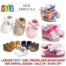 [ORTE] Baby Toddler Girls Boys Prewalkers Shoes Socks ★Christmas Winter Baby Shoes  ★ Good Quality ★  Super Fast Delivery ★  Babies love it ★  Grab it now ★ Over 30 brands and Designs ★