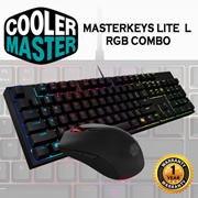 COOLER MASTER Masterkeys Lite L RGB Combo / Mouse + Keybourd / Mem-chanical / 1 year warranty