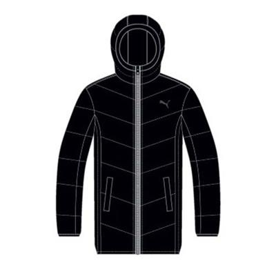 プーマ(PUMA) LITE MID ダウンジャケット 831015 01 ブラック 【メンズ トレーニングウェア ランニング ブレーカー 防寒】の画像