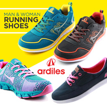 [FREE ONGKIR] ★ ARDILES ★ Shoes Man and Women Special Shoes Launching Discount Promo Running