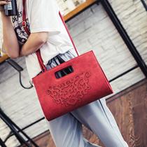 【予約】【送料無料】韓国ファッショレディース用ファッションハンドバッグ/トートバッグ/ショルダーバッグ/大容量/使いやすい人気カバン/ ン5 colors